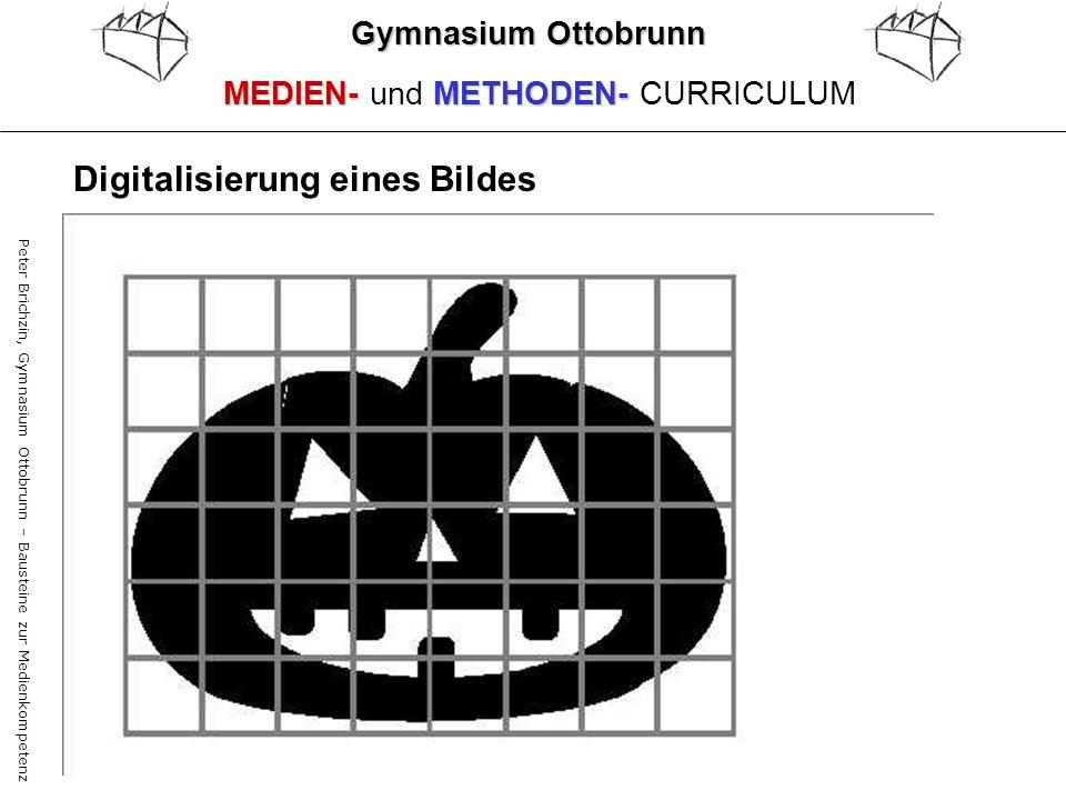 Peter Brichzin, Gymnasium Ottobrunn – Bausteine zur Medienkompetenz Gymnasium Ottobrunn MEDIEN-METHODEN- MEDIEN- und METHODEN- CURRICULUM Digitalisier