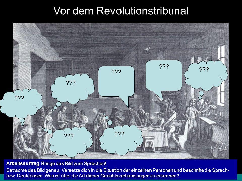 8.1.1 Französische Revolution – Terrorherrschaft© digitale-schule-bayern.de - Roman Eberth Ende der Terrorherrschaft Nach Hinrichtung der ___________ und großer Teile der __________ wird ___________ Ende Juli 1794 selbst Opfer des Terrors.
