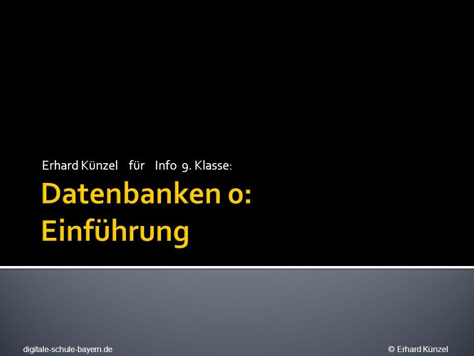 Erhard Künzel für Info 9. Klasse: digitale-schule-bayern.de © Erhard Künzel