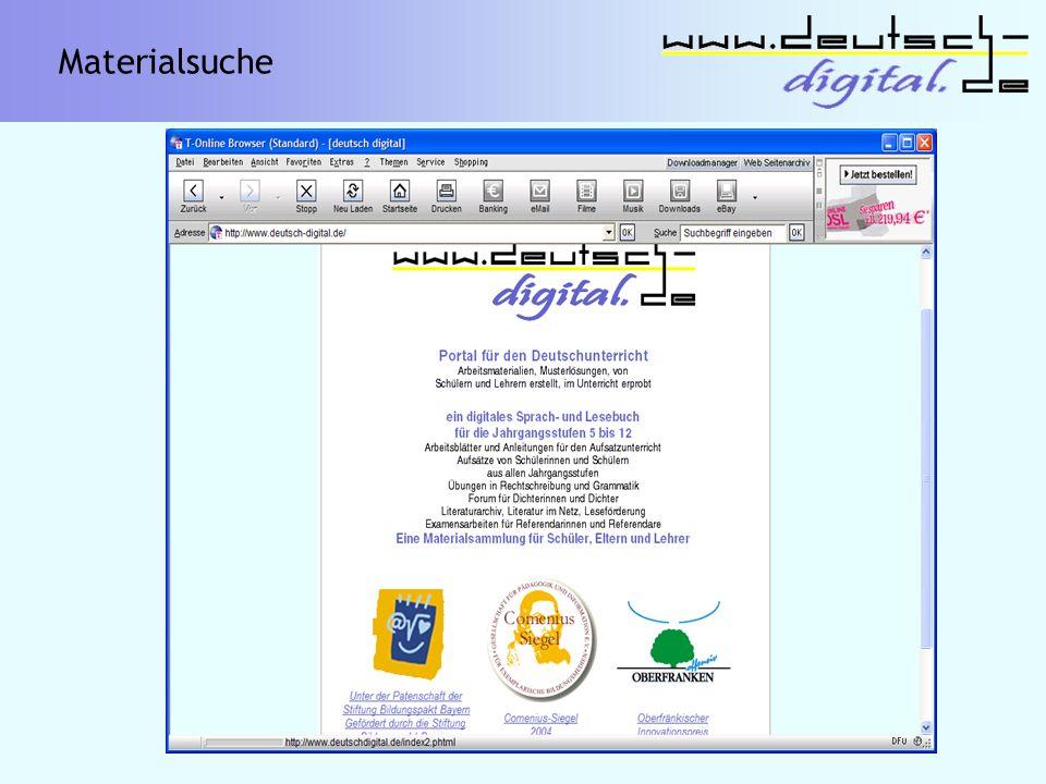 Deutsch digital Sparte Sprachbetrachtung - Grammatik