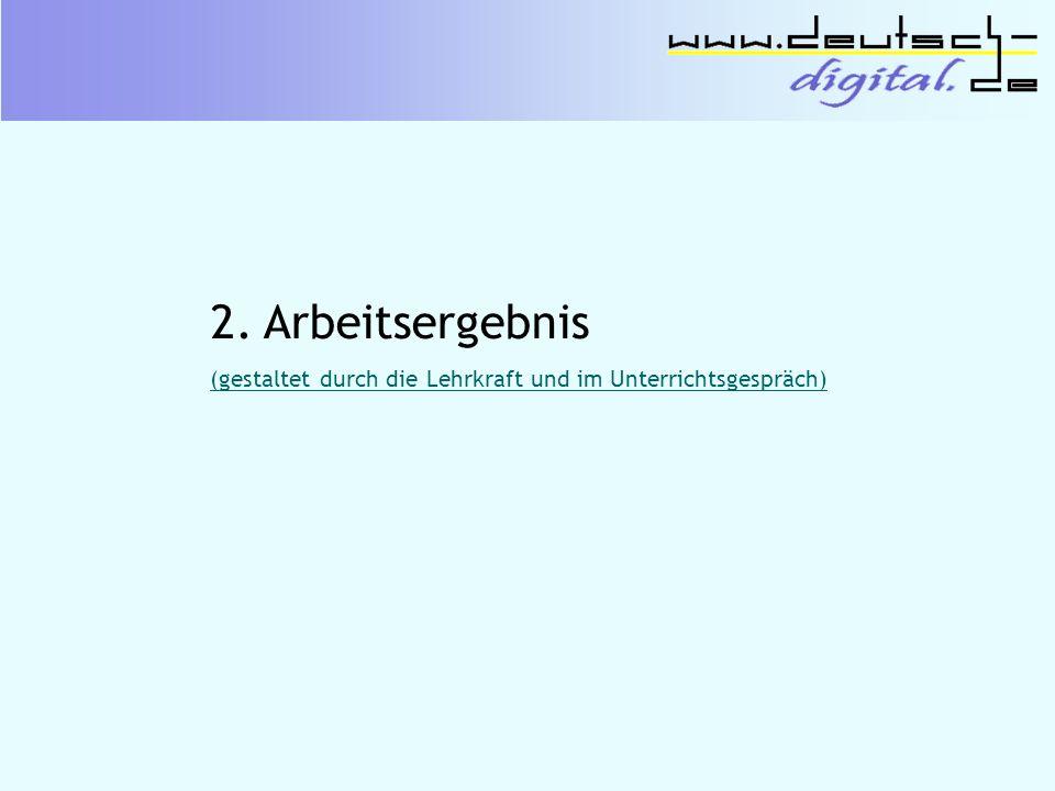 3. Sprache und Stil (nach: http://www.deutsch-digital.de/ daten/bildergeschichte/14.2.doc; S.3f.)