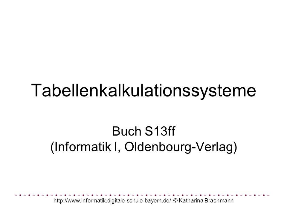 http://www.informatik.digitale-schule-bayern.de/ © Katharina Brachmann Aufgabe Du planst eine Party.