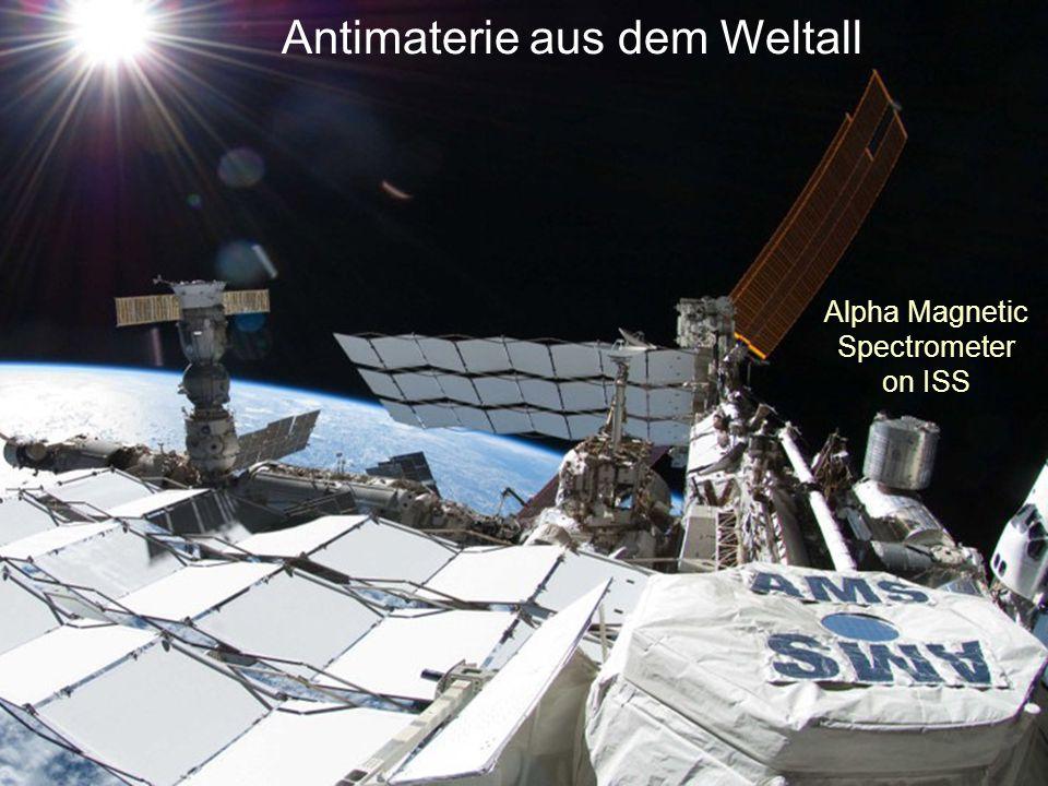 Positron-Anomalie von PAMELA PAMELA- Satellit .WIMP-Annihilation.