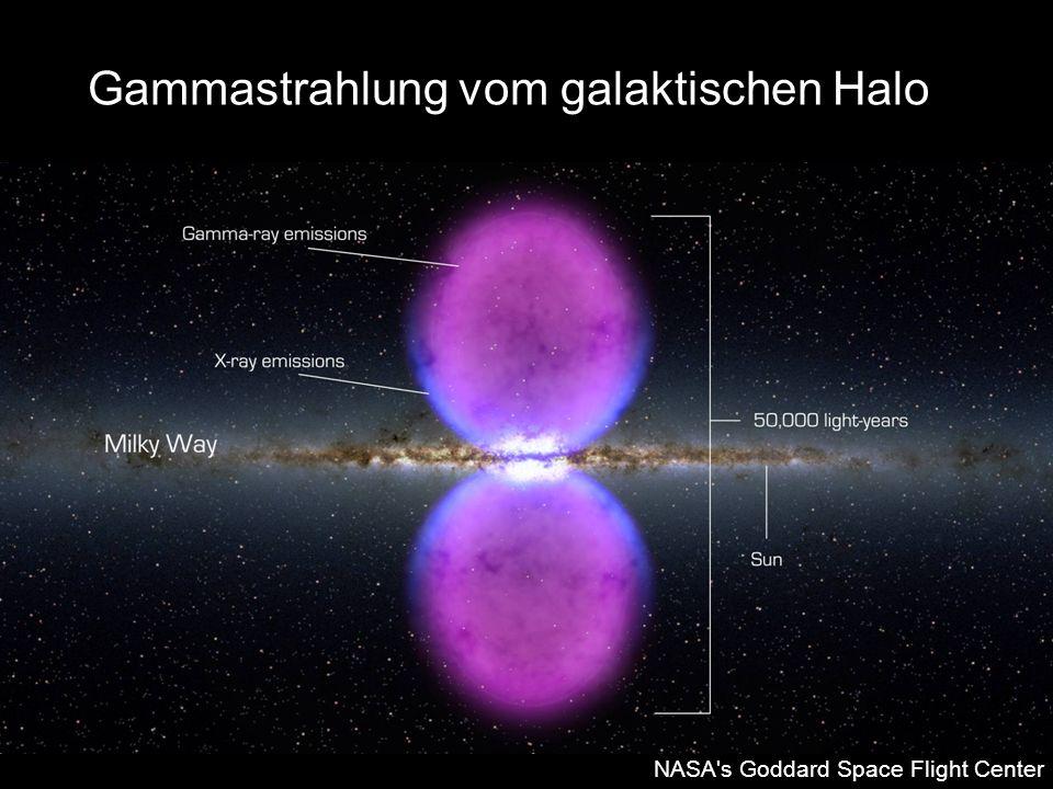Gammastrahlung vom galaktischen Halo NASA's Goddard Space Flight Center