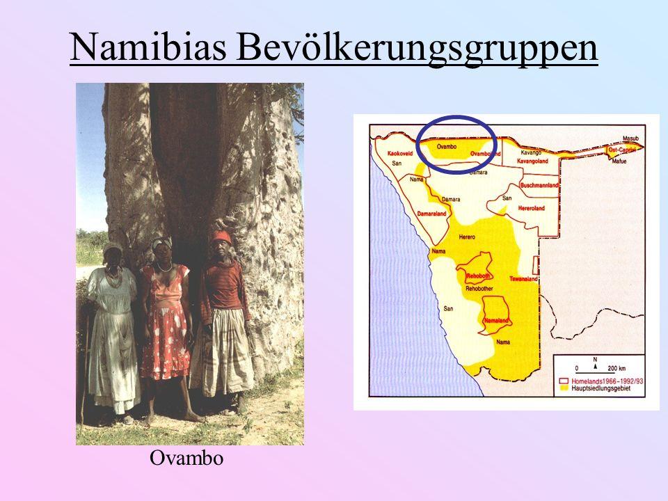 Namibias Bevölkerungsgruppen Ovambo