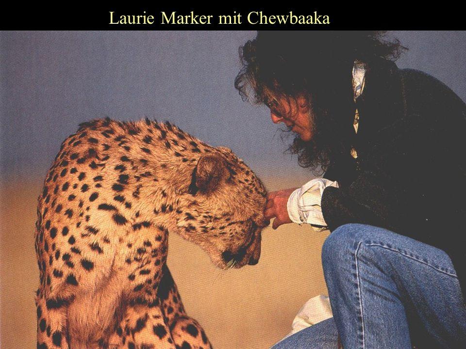 Laurie Marker mit Chewbaaka