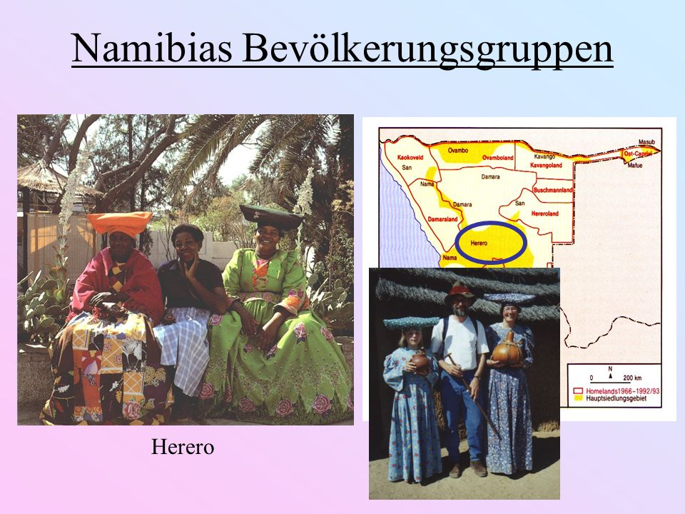 Namibias Bevölkerungsgruppen Himba