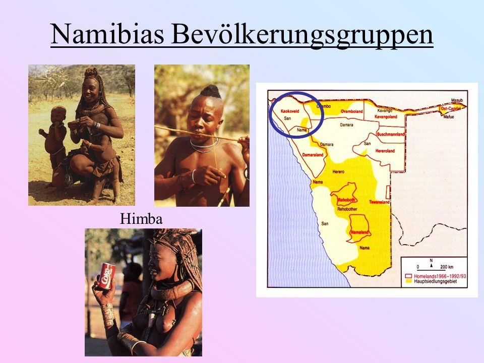 Namibias Bevölkerungsgruppen Nama