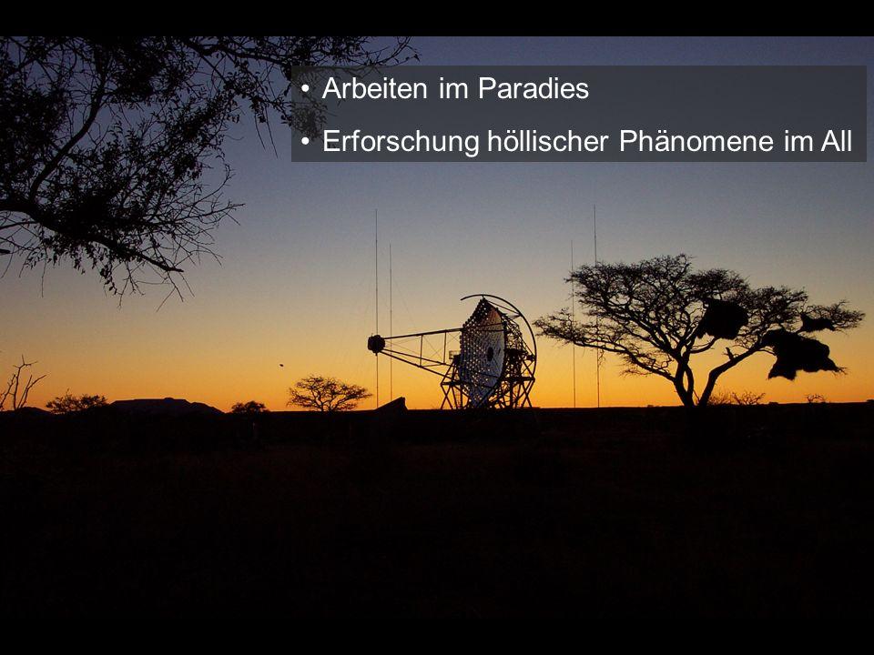 Zentrales Riesenteleskop im Bau