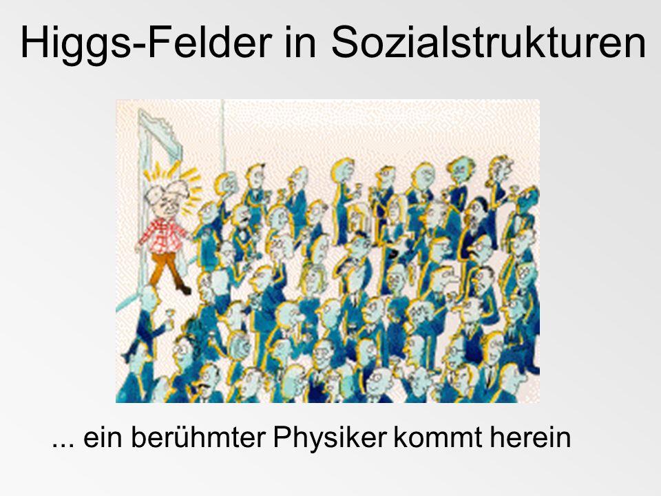 Higgs-Felder in Sozialstrukturen...