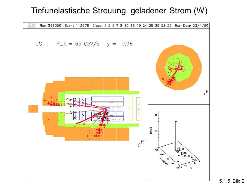 Tiefunelastische Streuung, geladener Strom (W) 5.1.5. Bild 2