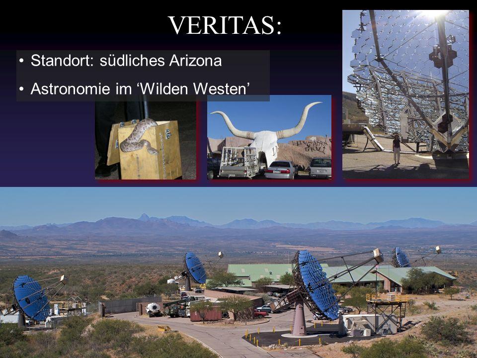 VERITAS: Standort: südliches Arizona Astronomie im Wilden Westen