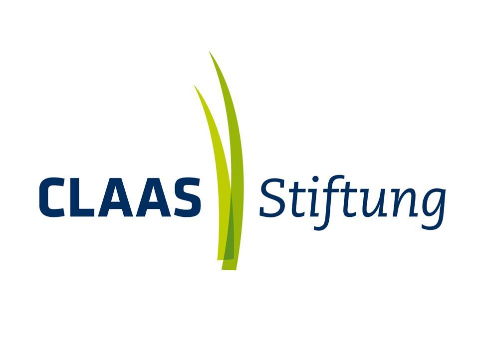 Dezember 2010 2 | CLAAS Stiftung Schlüsseldaten der CLAAS Stiftung Gründung der Stiftung:28.05.1999 Stiftungskapital: 6 Millionen Euro Kuratorium derHelmut Claas CLAAS Stiftung: Dr.