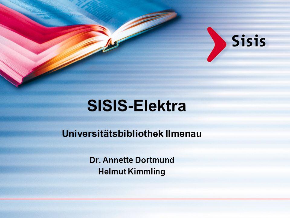 Das Systemhaus für Informationsanbieter und Bibliotheken Sisis Informationssysteme GmbH ca.