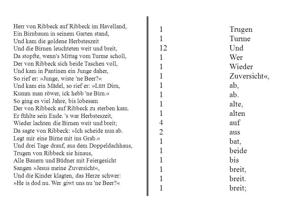 Analog: Ausgabe void KnotenDruck(BinBaum *T, ofstream *aus){ void Schreiben(char *, int, ofstream *); Schreiben(T->text, T->zaehler, aus); } void Schr