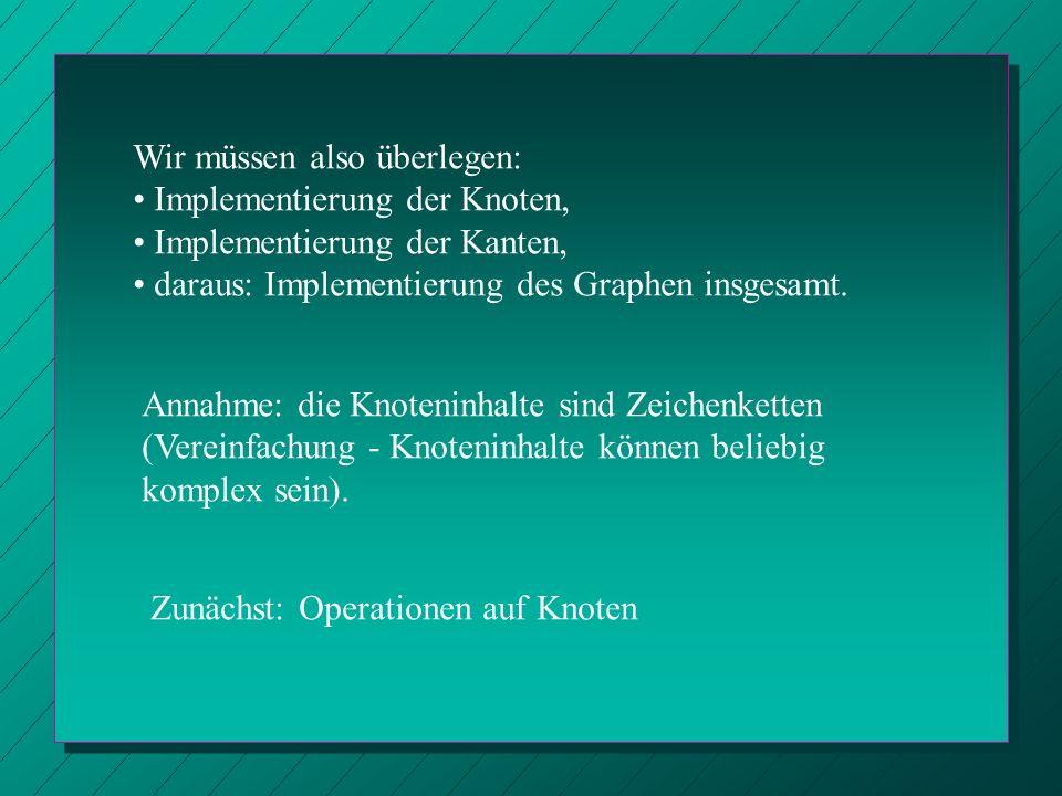 Ein Knoten.(Ganz Gallien?) Über die Verwaltungsinformation werden alle anderen Knoten eingefügt.