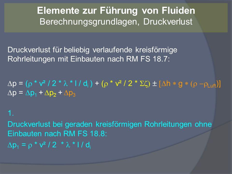 Laminare und turbulente Strömung Laminare Strömung: Das Fluid strömt in Schichten, die sich nicht vermischen.