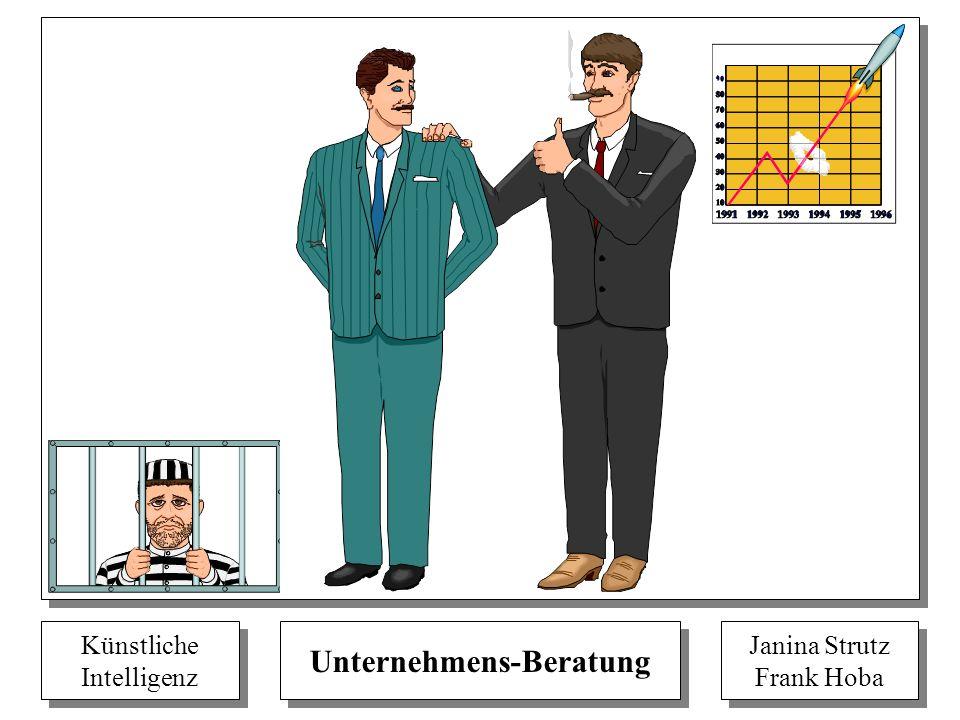 Künstliche Intelligenz Künstliche Intelligenz Unternehmens-Beratung Janina Strutz Frank Hoba Janina Strutz Frank Hoba