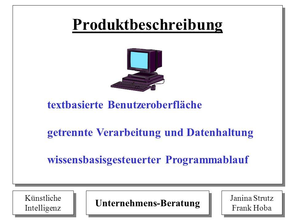 Künstliche Intelligenz Künstliche Intelligenz Unternehmens-Beratung Janina Strutz Frank Hoba Janina Strutz Frank Hoba Produktbeschreibung textbasierte
