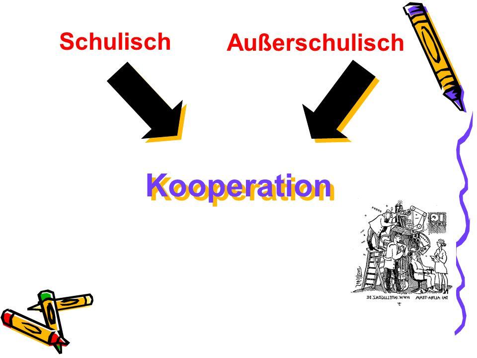 Schulisch Außerschulisch Kooperation