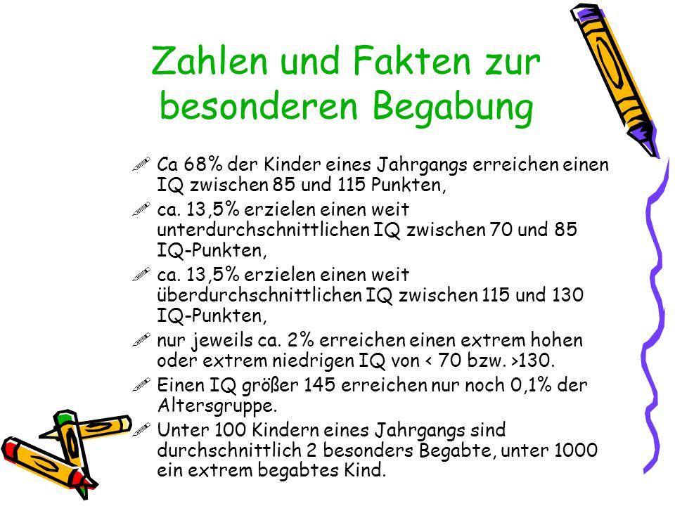 Das Münchner Hochbegabungsmodell von Kurt Heller Wie wird aus einem besonders begabten ein/e hoch leistender Schüler/in?