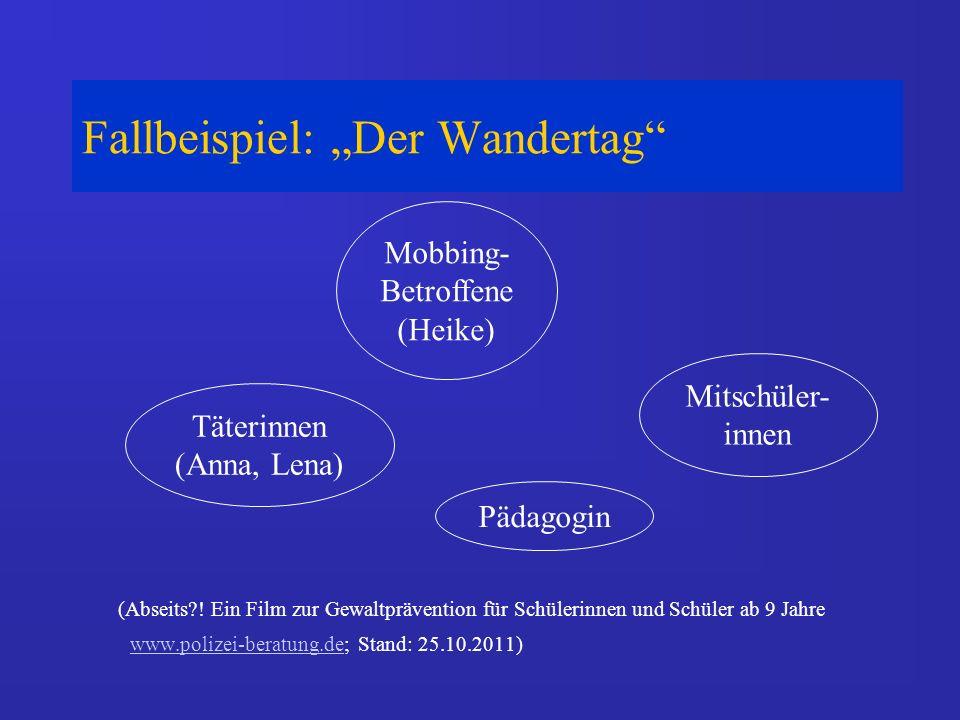 Fallbeispiel: Der Wandertag (Abseits?.