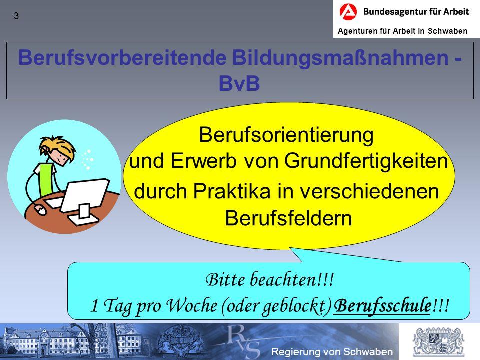 4 Ausbildungsbegleitende Hilfen - abH Schwierigkeiten in der Berufsschule (v.