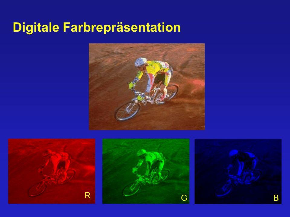 28/48 Digitale Farbrepräsentation R GB