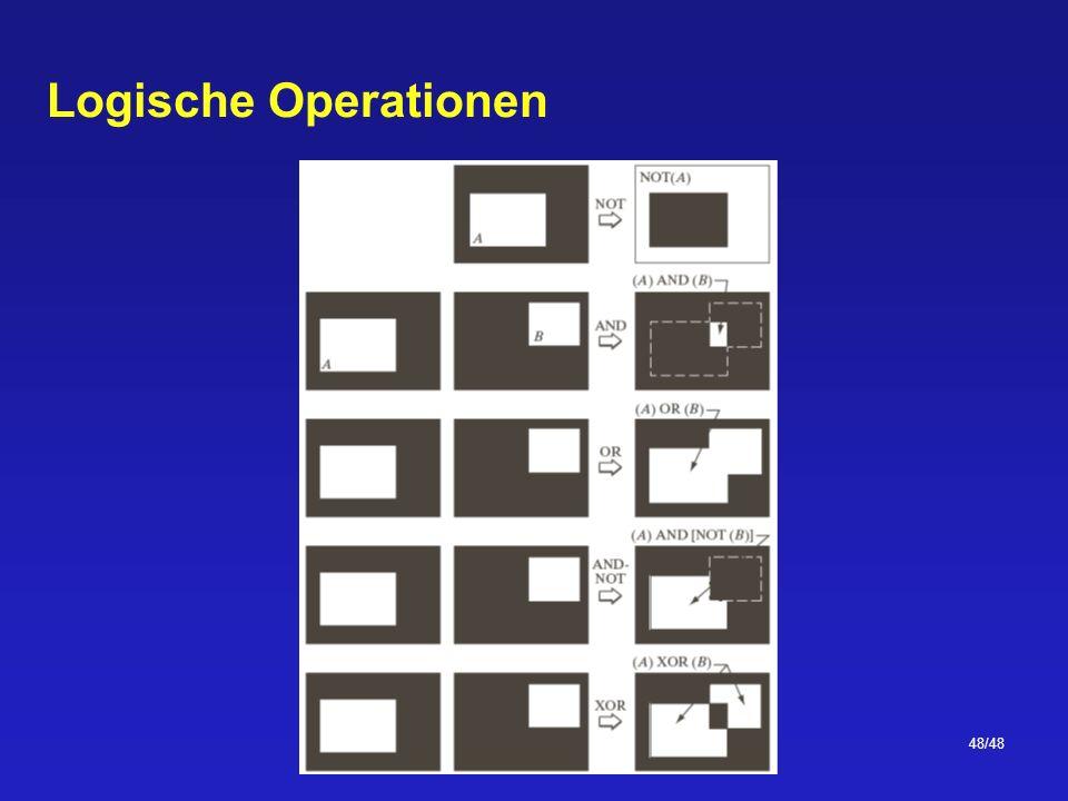 48/48 Logische Operationen