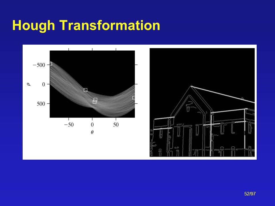52/97 Hough Transformation