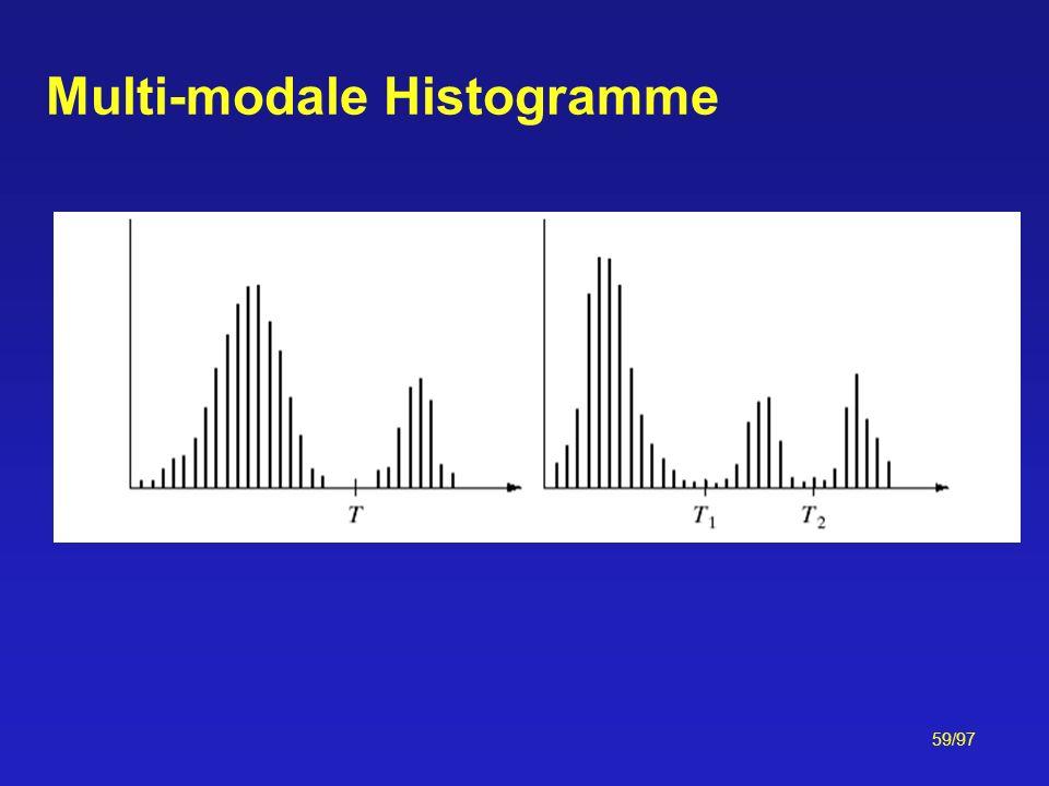 59/97 Multi-modale Histogramme