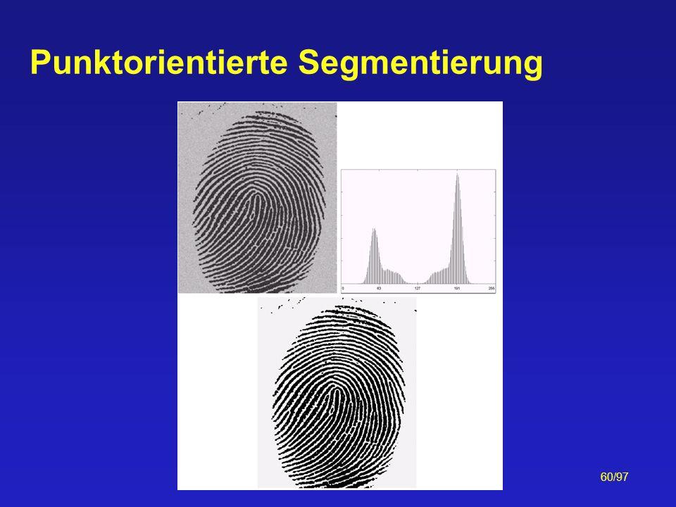 60/97 Punktorientierte Segmentierung
