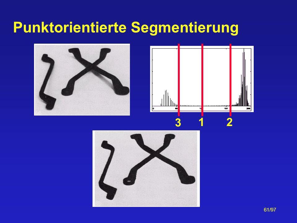 61/97 Punktorientierte Segmentierung 12 3