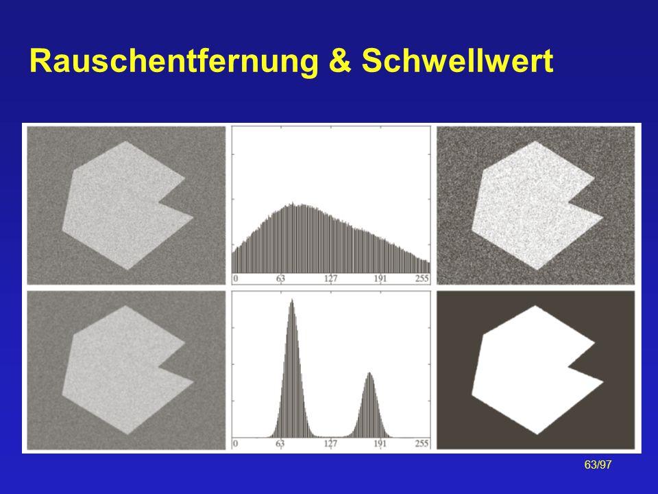 63/97 Rauschentfernung & Schwellwert