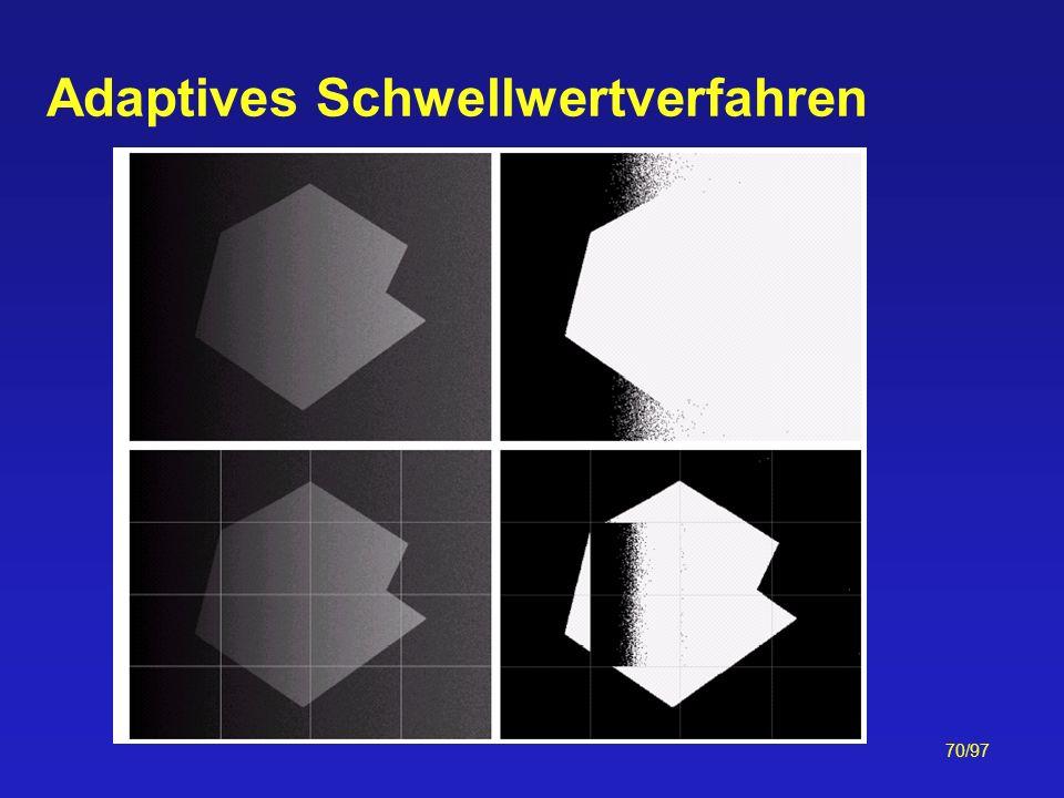 70/97 Adaptives Schwellwertverfahren