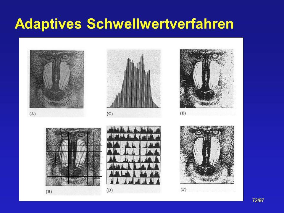 72/97 Adaptives Schwellwertverfahren
