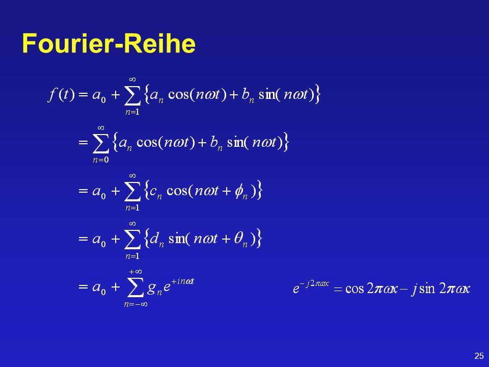 25 Fourier-Reihe
