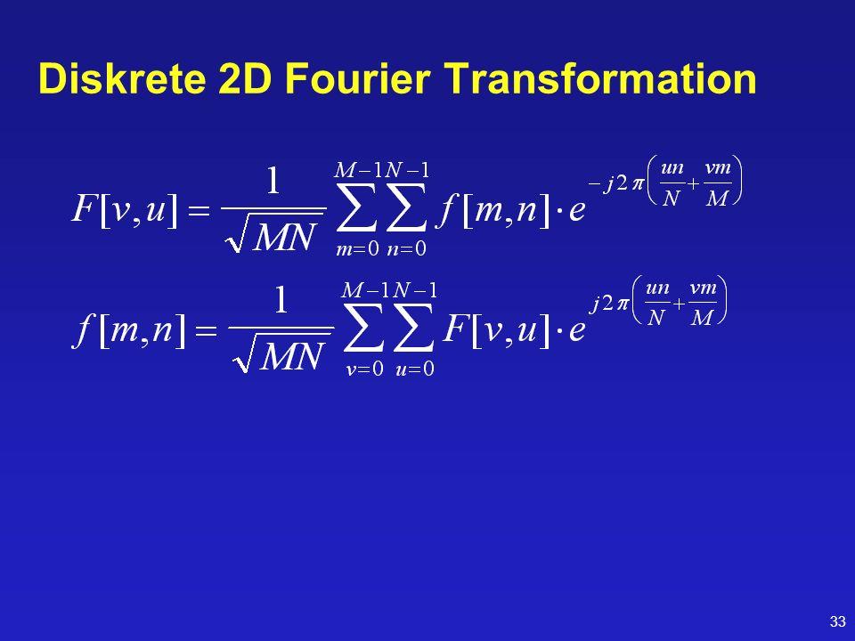 33 Diskrete 2D Fourier Transformation