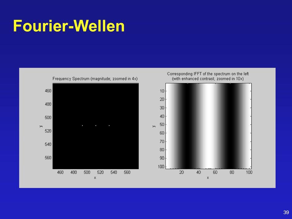 39 Fourier-Wellen