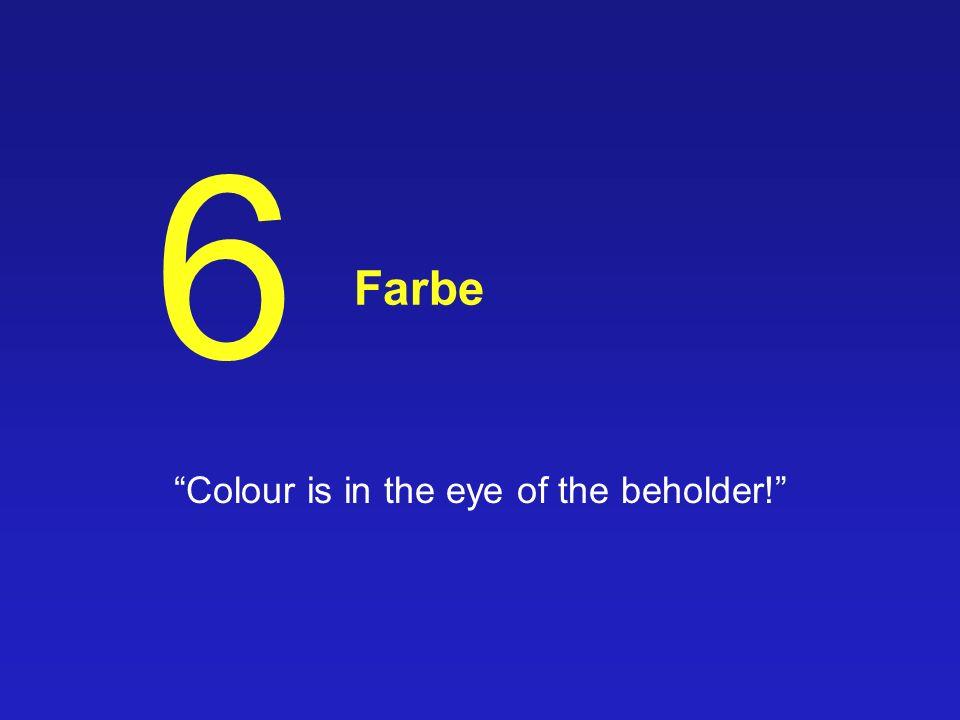42/79 CIE-Chromazitätskoordinaten xy Kalibrierung von RGB Werten durch Angabe der Primärvalenzen & Weißpunkt möglich ABER keine Übereinstimmung mit der menschlichen Farbwahrnehmung Ähnlichkeit von Farben Farbabstände MacAdams Ellipsen weitere Transformationen nötig