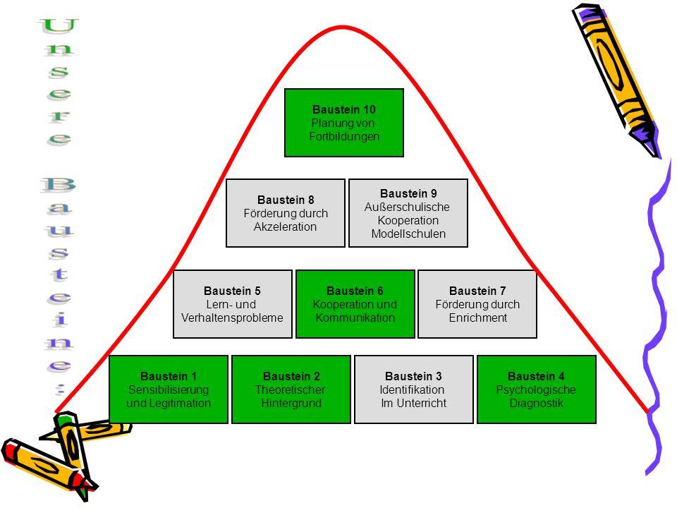 Baustein 1 Sensibilisierung und Legitimation Baustein 2 Theoretischer Hintergrund Baustein 3 Identifikation Im Unterricht Baustein 4 Psychologische Di