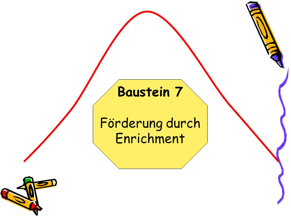 Baustein 7 Förderung durch Enrichment
