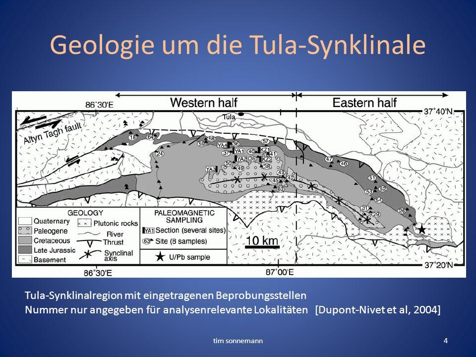 Geologie um die Tula-Synklinale tim sonnemann4 Tula-Synklinalregion mit eingetragenen Beprobungsstellen Nummer nur angegeben für analysenrelevante Lok