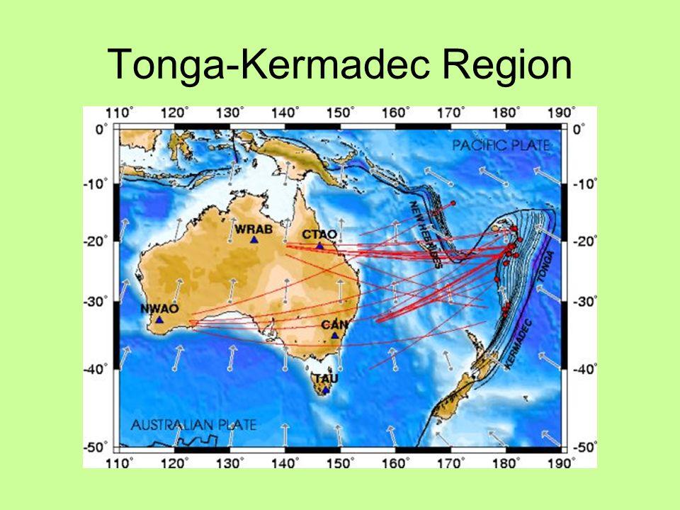 Tonga-Kermadec Region