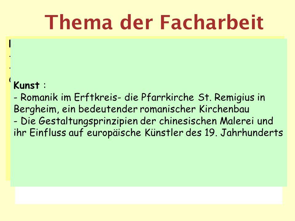 Thema der Facharbeit Deutsch: Die schlesischen Weber und deren Situation im Spiegel der Lyrik des Vormärz Christiane Vulpius ihr Einfluss auf Goethes
