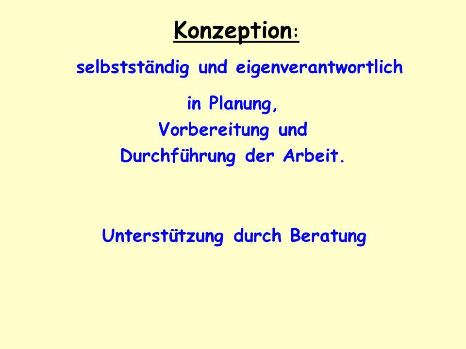 Vorbereitung Normalerweise: Deutschunterricht der Stufe EF Auch möglich: Deutschunterricht der Stufe Q1 Lehrer/-in informieren, wenn noch Bedarf Letzte Möglichkeit: Beratung durch den FA-Fachlehrer der Stufe Q1