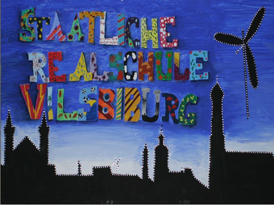 12 11 10 9 8 7 6 5 4 3 2 1 Grundschule Gymnasium Realschule Hauptschule mit M-Zweig Mittlerer Schulabschluss Das gegliederte Schulsystem Staatliche Realschule Vilsbiburg