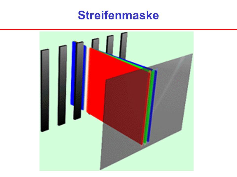 Streifenmaske