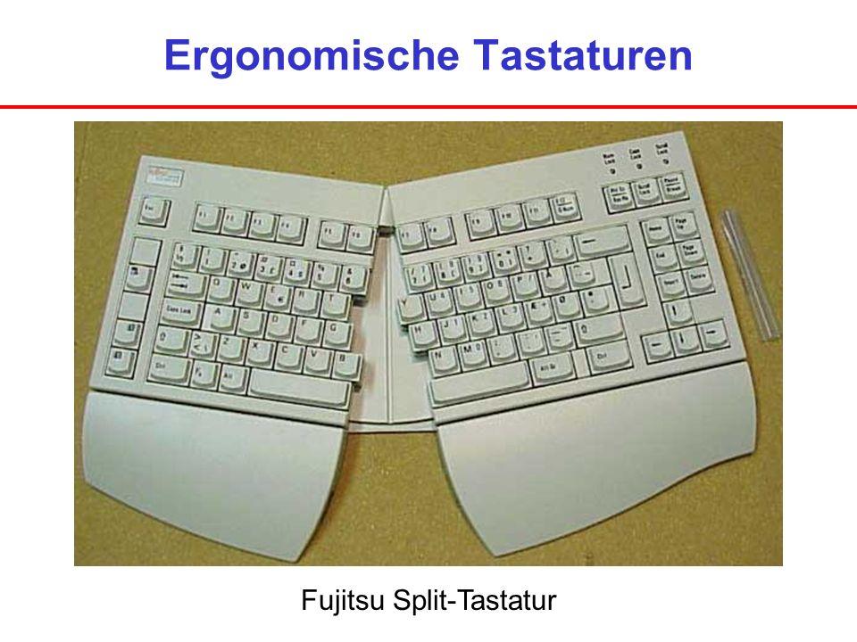Ergonomische Tastaturen Fujitsu Split-Tastatur