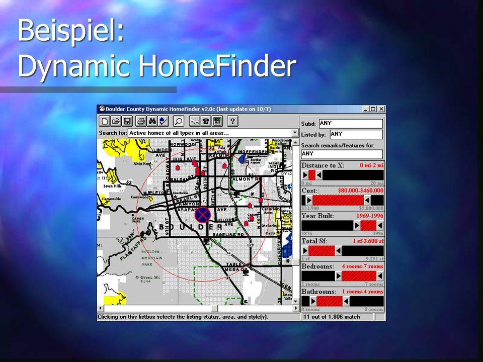 Beispiel: Dynamic HomeFinder